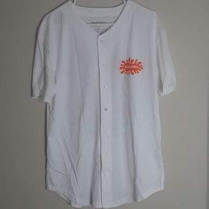 Nickelodeon 90s button up